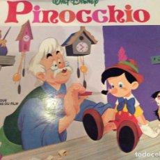 Discos de vinilo: PINOCHO WALT DISNEY. Lote 175870657