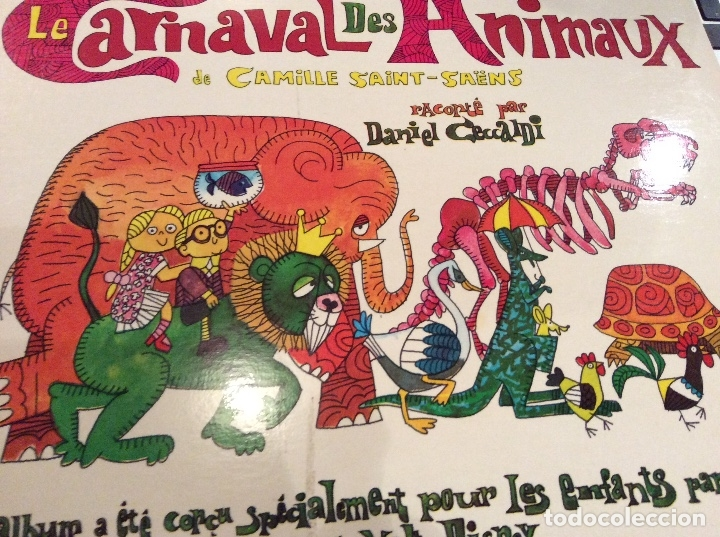 LE CARNAVAL DES ANIMAUX (Música - Discos - Singles Vinilo - Música Infantil)