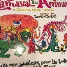 Discos de vinilo: LE CARNAVAL DES ANIMAUX. Lote 175870754