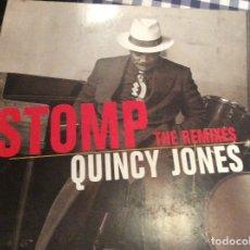 Discos de vinilo: ÁTOMO THE REMITES QUINCY JONES. Lote 175871400