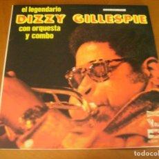 Discos de vinilo: LP DOBLE : DIZZY GILLESPIE / ED SPAIN 1977 PORTADA DOBLE 2 DISCOS EX. Lote 175872737