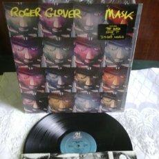 Discos de vinilo: DEEP PURPLE,ROGER GLOVER / MASK !! RARO !! COMPLETA 1ª EDIC ORG USA + ENCARTE !! TODO EXC. Lote 175875735