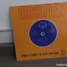 Discos de vinilo: DISCOFLEX CHOPIN-HISPAVOX 1961-GRAN POLONESA EN LA BEMOL,OP 53. Lote 175877010