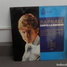 Discos de vinilo: RAPHAEL CANTA LA NAVIDAD 1965. Lote 175877073