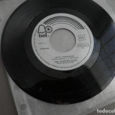 Discos de vinilo: THE GLITTER BAND - THE TEARS I CRIED / UNTIL TOMORROW (SINGLE ESPAÑOL, BELL RECORDS 1975). Lote 175877210