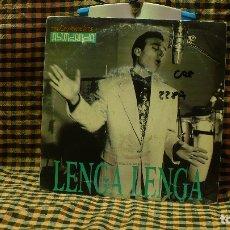 Discos de vinilo: LOS COYOTES DE VICTOR ABUNDANCIA -- LENGA LENGA / LENGA LENGA, DRO 1991.. Lote 175879524