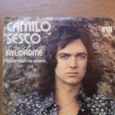 Discos de vinilo: CAMILO SESTO AYÚDAME. Lote 175883263