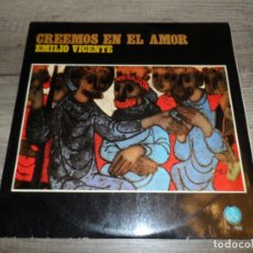 Discos de vinilo: EMILIO VICENTE MATEU - CREEMOS EN EL AMOR. Lote 175884793