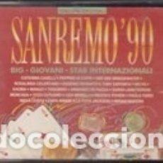 Discos de vinilo: LP'S DOPPIO SANREMO 1990 POLYSTAR POLYGRAM ITALY KAOMA CATERINA CASELLI ROSALINDA PAPA WINNIE . Lote 175893918