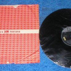 Discos de vinilo: THE BLUE DIAMONDS SPAIN LP 1961 LOS BLUE DIAMONDS POP ROCK & ROLL VOCAL FONTANA 680 509 TL RARO MIRA. Lote 175900965
