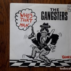 Discos de vinilo: THE GANGSTERS - WHO'S THAT MAN + GAMES . Lote 175901793