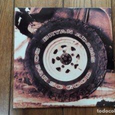Discos de vinilo: BRYAN ADAMS - SO FAR SO GOOD. Lote 175902205