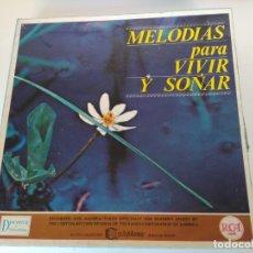 Discos de vinilo: COLECCIÓN DE DISCOS MELODÍAS PARA VIVIR Y SOÑAR (COMPLETA). Lote 175906724