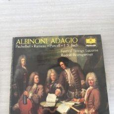 Discos de vinilo: ALBINONI. Lote 175907175