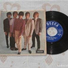 Discos de vinilo: THE ROLLING STONES 7´EP FIVE BY FIVE (1964) ORIGINAL ENGLAND - 5 TEMAS- DECCA MONO 8590 BUEN ESTADO. Lote 165041854