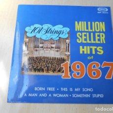 Discos de vinilo: 101 STRINGS, EP, A MAN AND A WOMAN + 3, AÑO 1967. Lote 175909794