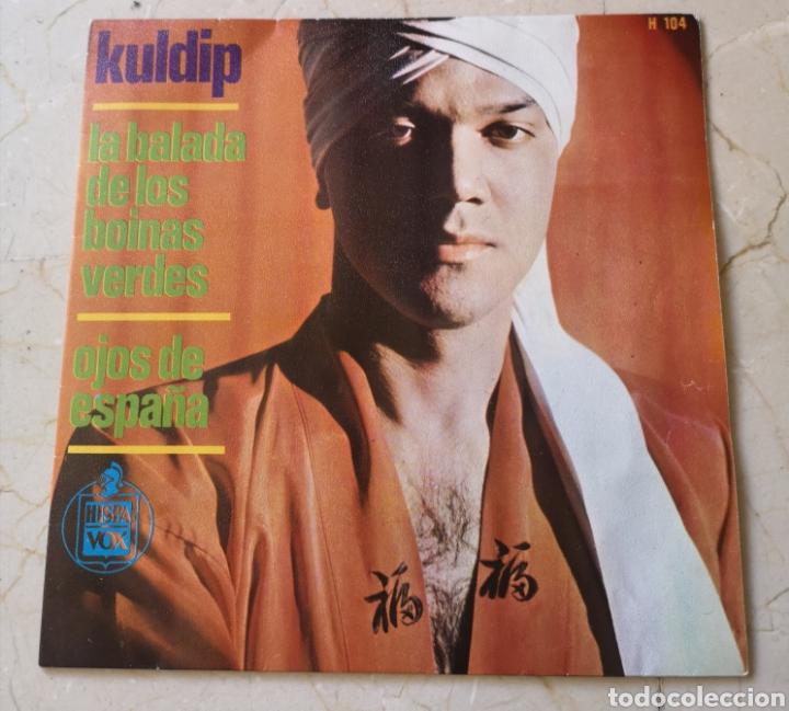 KULDIP (Música - Discos - Singles Vinilo - Solistas Españoles de los 50 y 60)