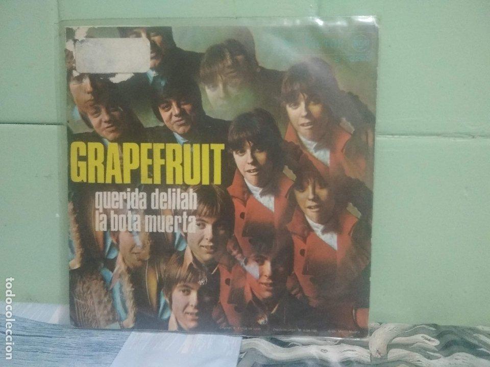 Discos de vinilo: GRAPERFRUIT QUERIDA DELILAH SINGLE SPAIN 1968 PDELUXE - Foto 2 - 175921139