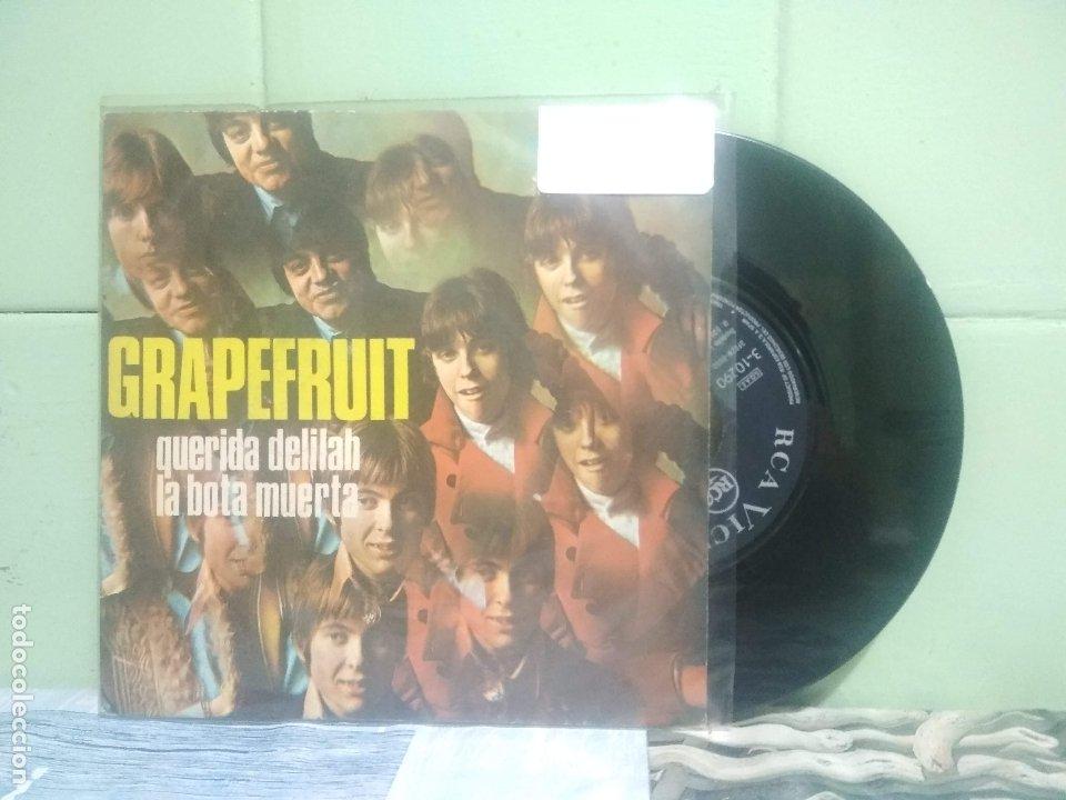 GRAPERFRUIT QUERIDA DELILAH SINGLE SPAIN 1968 PDELUXE (Música - Discos - Singles Vinilo - Pop - Rock Extranjero de los 50 y 60)