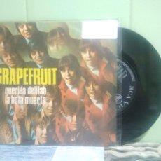 Discos de vinilo: GRAPERFRUIT QUERIDA DELILAH SINGLE SPAIN 1968 PDELUXE. Lote 175921139