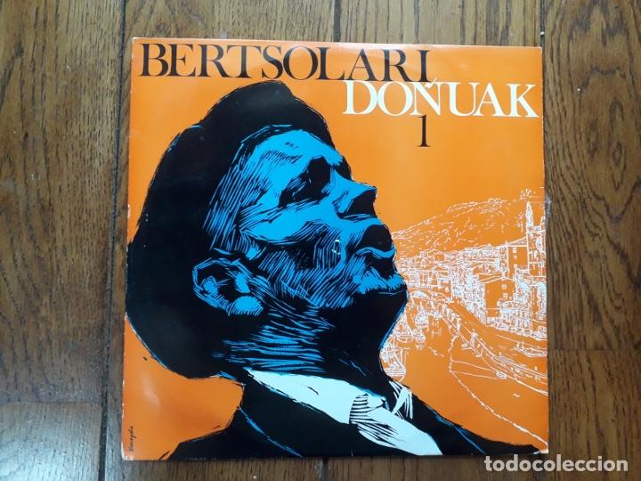 BERTSOLARI DOINUAK -1- BASARRI, MATTIN, AZPILLAGA, LAZKAO TXIKI.... (Música - Discos - LP Vinilo - Étnicas y Músicas del Mundo)