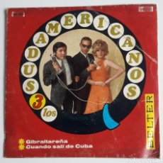 Discos de vinilo: DISCO VINILO SINGLE 45 RPM LOS 3 SUDAMERICANOS. Lote 175924374