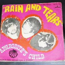 Discos de vinilo: APHRODITE´S CHILD - RAIN AND TEARS ---- AÑO 1968-- VINILO MINT (M ) -- FUNDA VG+++. Lote 175925404