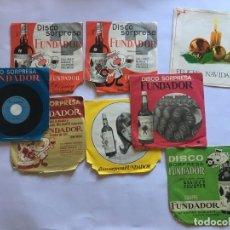 Discos de vinilo: LOTE 6 SINGLES, DISCO SORPRESA FUNDADOR AÑOS 60. Lote 175933150