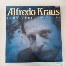 Discos de vinilo: ALFREDO KRAUS , CANCIONES ESPAÑOLAS, VINILO. LP. Lote 175942924