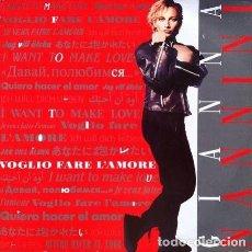 Discos de vinilo: GIANNA NANNINI - VOGLIO FARE L'AMORE . MAXI SINGLE . 1985 POLYDOR GERMANY 871 971-1. Lote 32465936