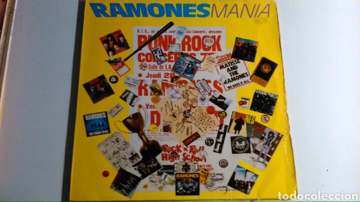 RAMONES – RAMONES MANIA 2 LP´S (1988) USA (Música - Discos - LP Vinilo - Punk - Hard Core)
