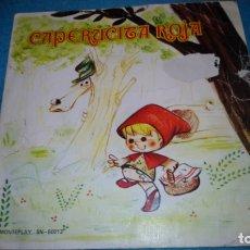 Discos de vinilo: CAPERUCITA ROJA TEATRO INFANTIL SAMANIEGO. Lote 175948977