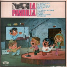 Discos de vinilo: LA PANDILLA. UN RAYO DE SOL / . LP MOVIE PLAY DE 1970 RF-7818 DOBLE PORTADA. Lote 175958337