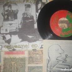 Discos de vinilo: MANTA RAY - ESCUEZME! FORCED NACHO VEGAS ( 1994-SUBTERFUGE)+ENCARTE OG XIXON PLAZA GUETU CACTUS. Lote 175963500