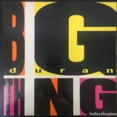 Discos de vinilo: DURAN DURAN BIG THING LP 1988 EMI GATEFOLD SPAIN VINILO EX, CARPETA VG+. Lote 175968808