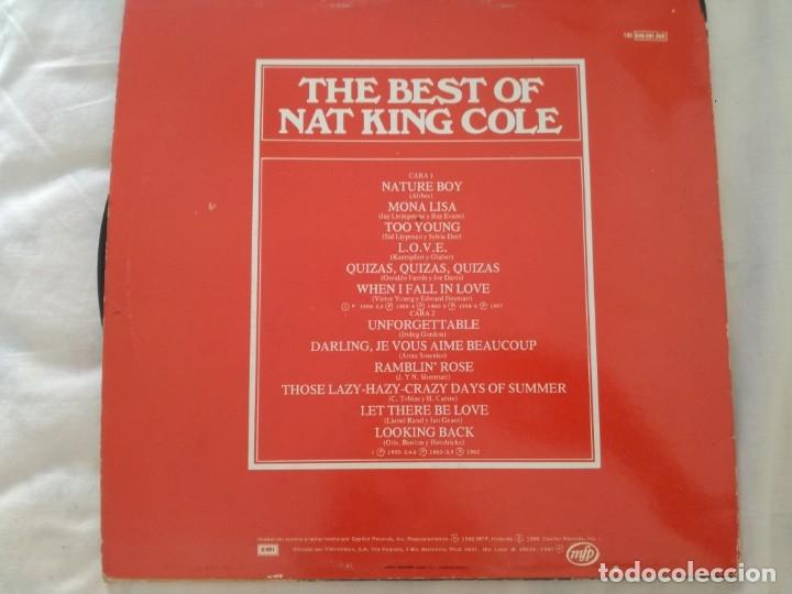 Discos de vinilo: NAT KING COLE. - Foto 2 - 175973505