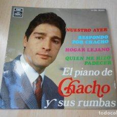 Discos de vinilo: CHACHO, EP, NUESTRO AYER + 3, AÑO 1968. Lote 175974092