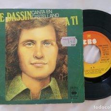 Disques de vinyle: JOE DASSIN EN CASTELLANO.. Lote 175975190