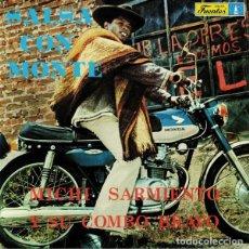 Discos de vinilo: MICHI SARMIENTO Y SU COMBO BRAVO - SALSA CON MONTE - 2018 VAMPI SOUL RECORDS 180 GRAM VINYL REISSUE. Lote 175977354
