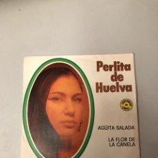 Discos de vinilo: PERLITA DE HUELVA. Lote 175978399