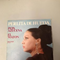 Discos de vinilo: PERLITA DE HUELVA. Lote 175978465