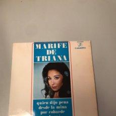 Discos de vinil: MARIFE DE TRIANA. Lote 175978532
