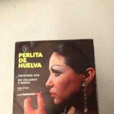 Discos de vinilo: PERLITA DE HUELVA. Lote 175978538