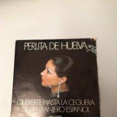 Discos de vinilo: PERLITA DE HUELVA. Lote 175978567