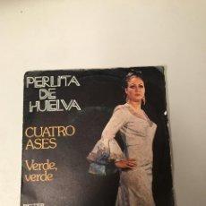 Discos de vinilo: PERLITA DE HUELVA. Lote 175979942