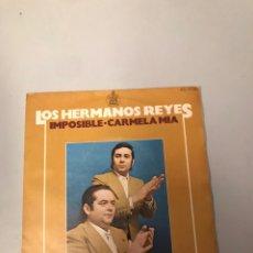 Discos de vinilo: LOS HERMANOS REYES. Lote 175981020