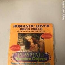 Discos de vinil: ROMÁNTIC LOVER. Lote 175984887