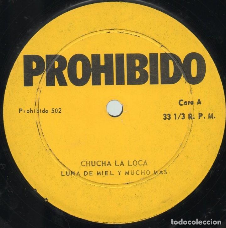 Discos de vinilo: Chucha La Loca - Luna De Miel Y Mucho Más - Foto 3 - 175988825