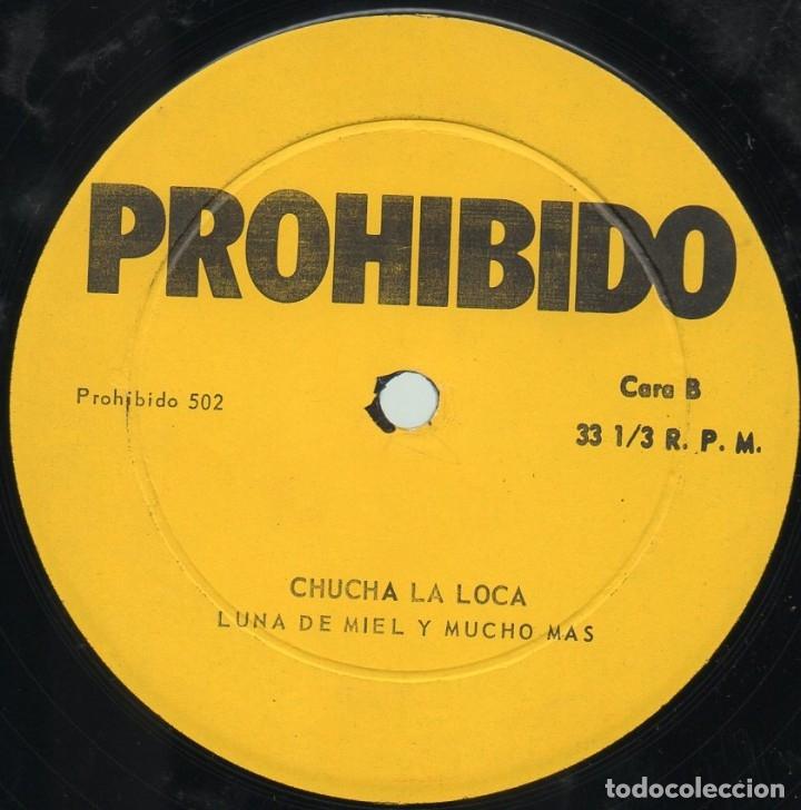 Discos de vinilo: Chucha La Loca - Luna De Miel Y Mucho Más - Foto 4 - 175988825