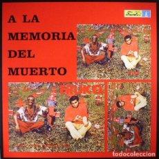 Discos de vinilo: FRUKO - A LA MEMORIA DEL MUERTO - 2017 VAMPI SOUL 180 GRAM VINYL REISSUE. Lote 175994984